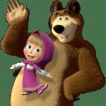 Masha e o Urso – Imagem Masha e o Urso PNG