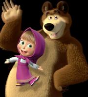 Masha e o Urso - Imagem Masha e o Urso