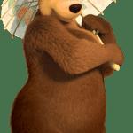 Masha e o Urso – Imagem Ursa PNG