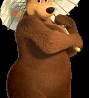 Masha e o Urso - Imagem Ursa