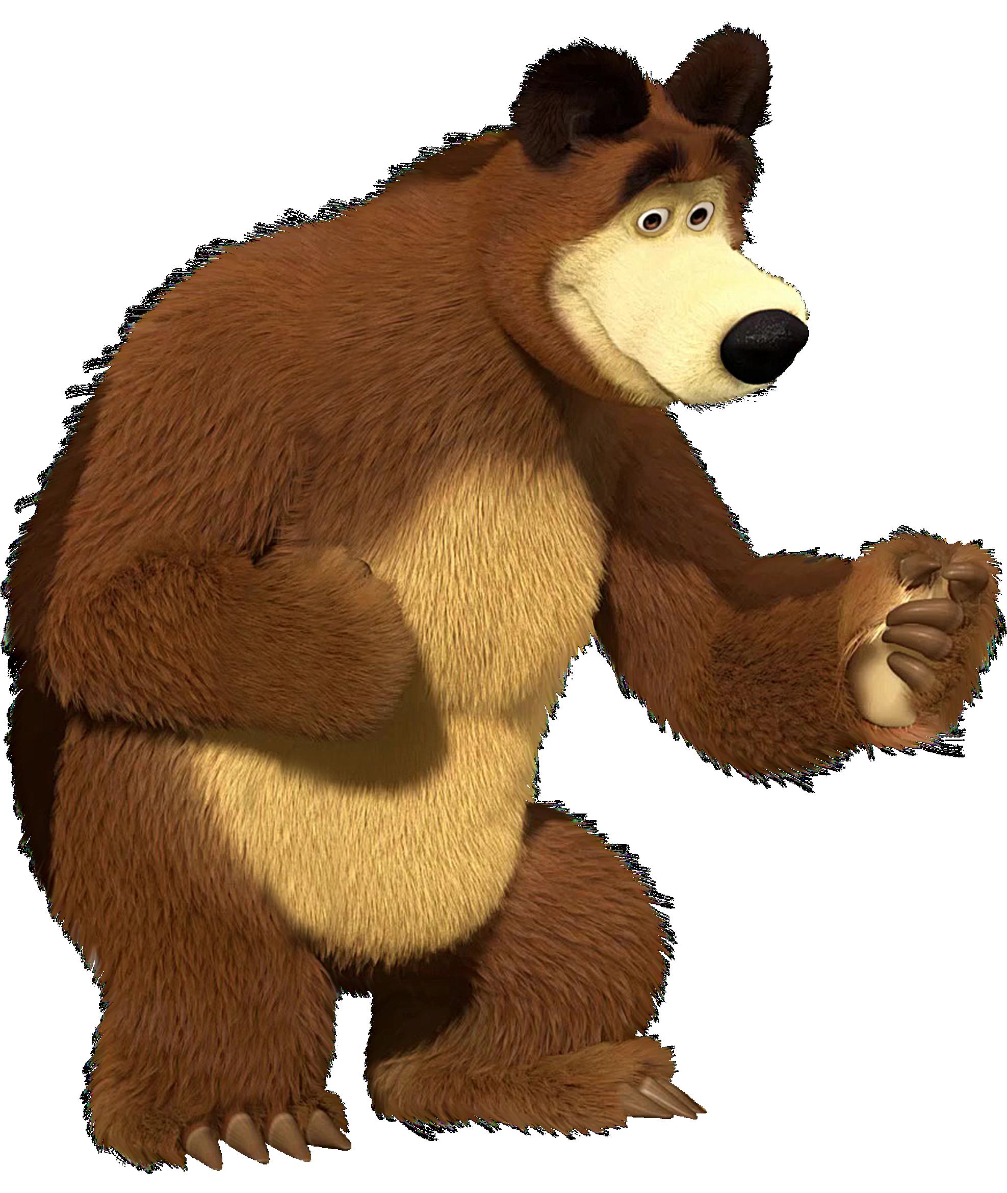 Imagens De Personagens Masha E O Urso PNG Imagens E Moldes