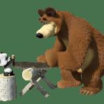 Masha e o Urso – Imagem Urso e o Panda PNG