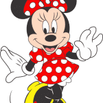 Turma do Mickey – Minnie Vermelha 2 Png
