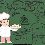 Molde de Chefe de Cozinha 2 para Feltro, Eva e Artesanato