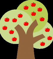 Branca de Neve Cut - Árvore maçãs
