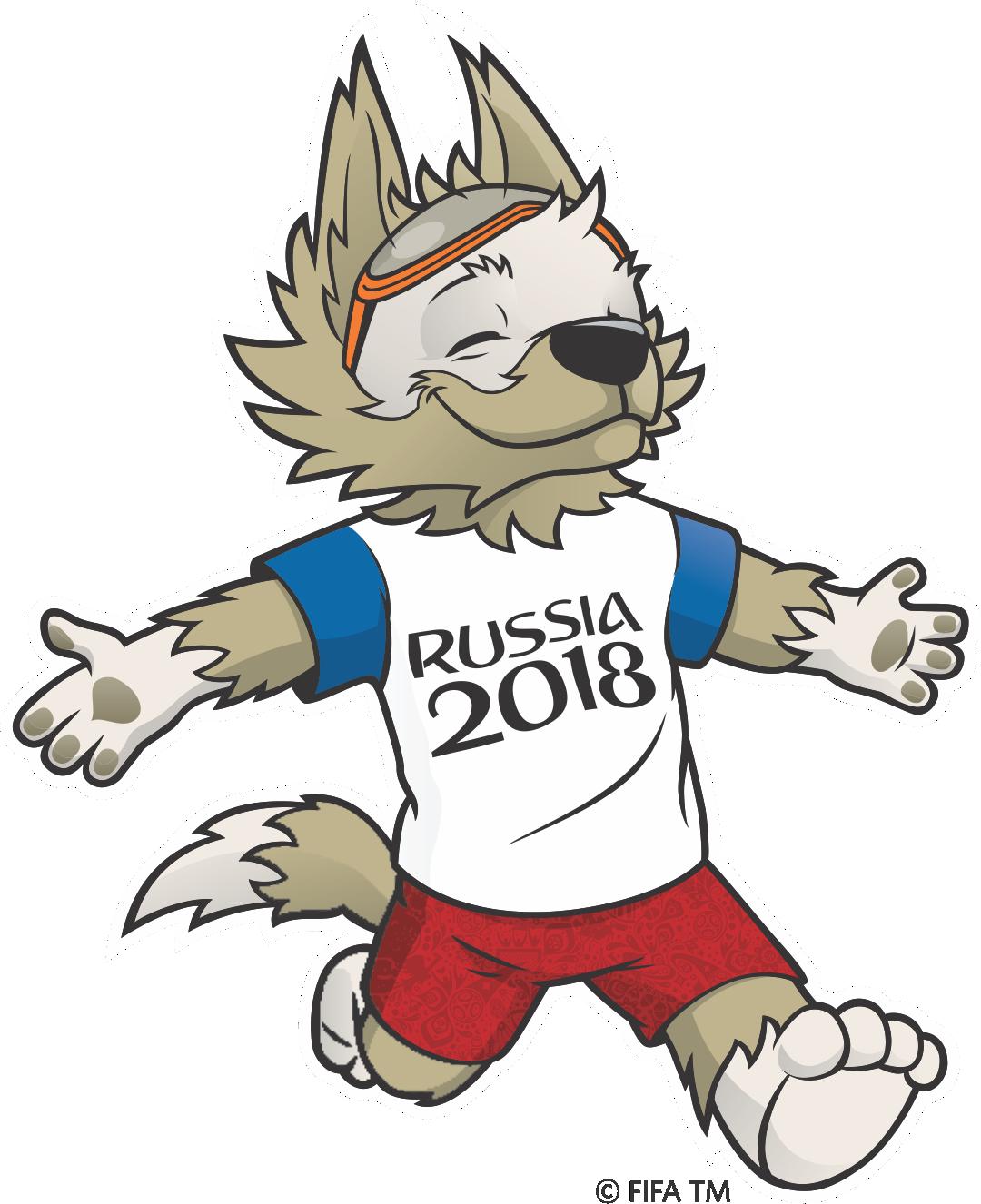 Copa Do Mundo Russia 2018 Mascote Zabivaka 2 Png