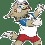 Copa do Mundo Rússia 2018 – Mascote Zabivaka 3 PNG
