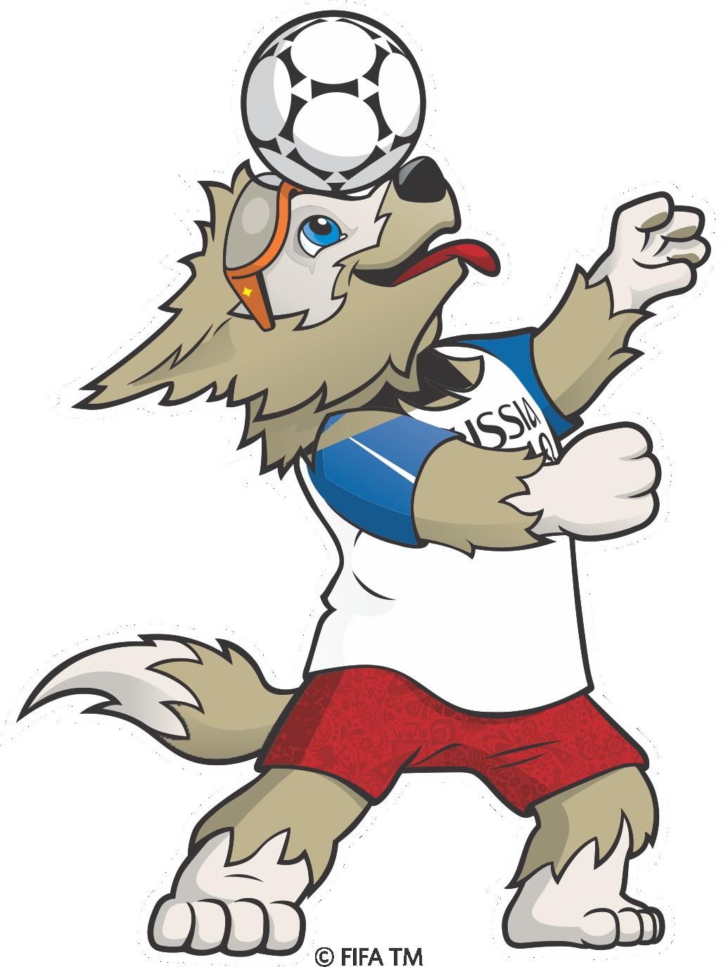 Copa Do Mundo Russia 2018 Mascote Zabivaka 3 Png