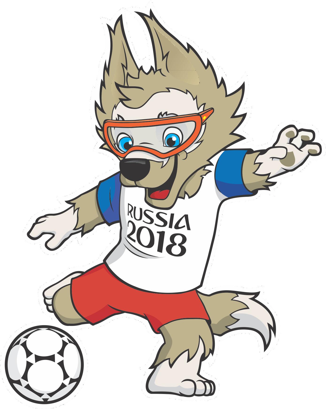 Copa Do Mundo Russia 2018 Mascote Zabivaka 5 Png
