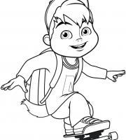 Arquivos Pdf Infantis Para Colorir Do Alvin E Os Esquilos