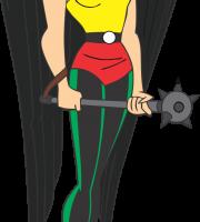Liga da Justiça - Mulher Gavião