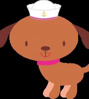 Marinheira Cute - Mascote Cão