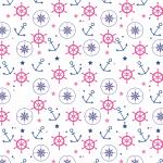 Marinheira Cute – Papel Digital Marinheira 2 PNG e Vetor