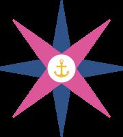 Marinheira Cute - Rosa dos Ventos