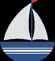 Marinheiro Cute - Barco