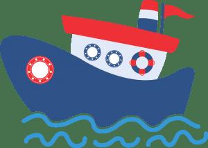 Marinheiro Cute - Navio
