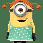 Meu Malvado Favorito – Minions Menina PNG