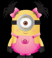 Meu Malvado Favorito - Minions Menina Rosa