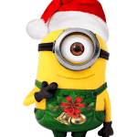 Meu Malvado Favorito – Minions Natal PNG