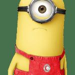 Meu Malvado Favorito – Minions Phil Vermelho PNG