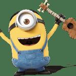Meu Malvado Favorito – Minions Stuart 2 PNG