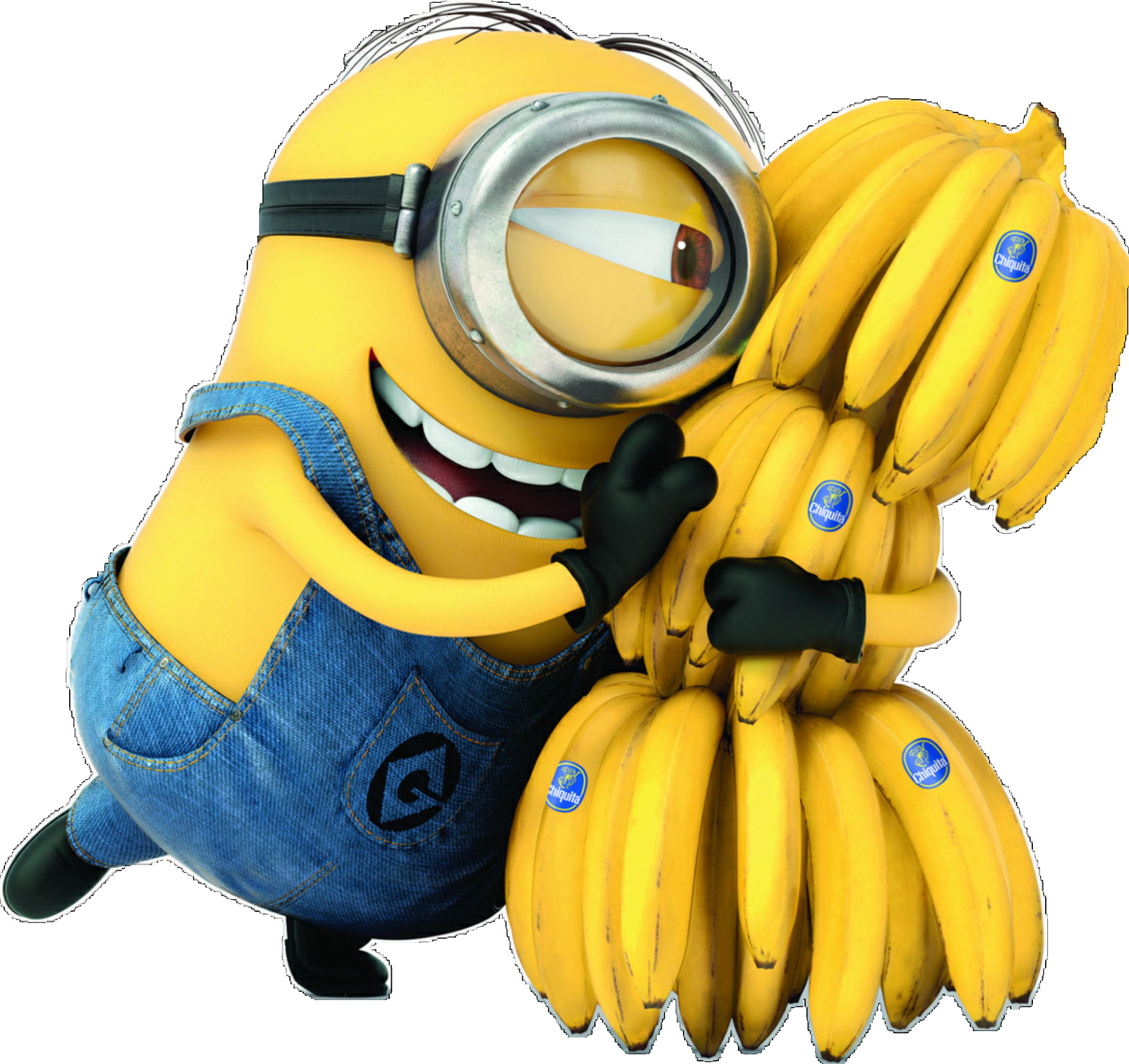 Meu Malvado Favorito Minions E As Bananas Png Transparente