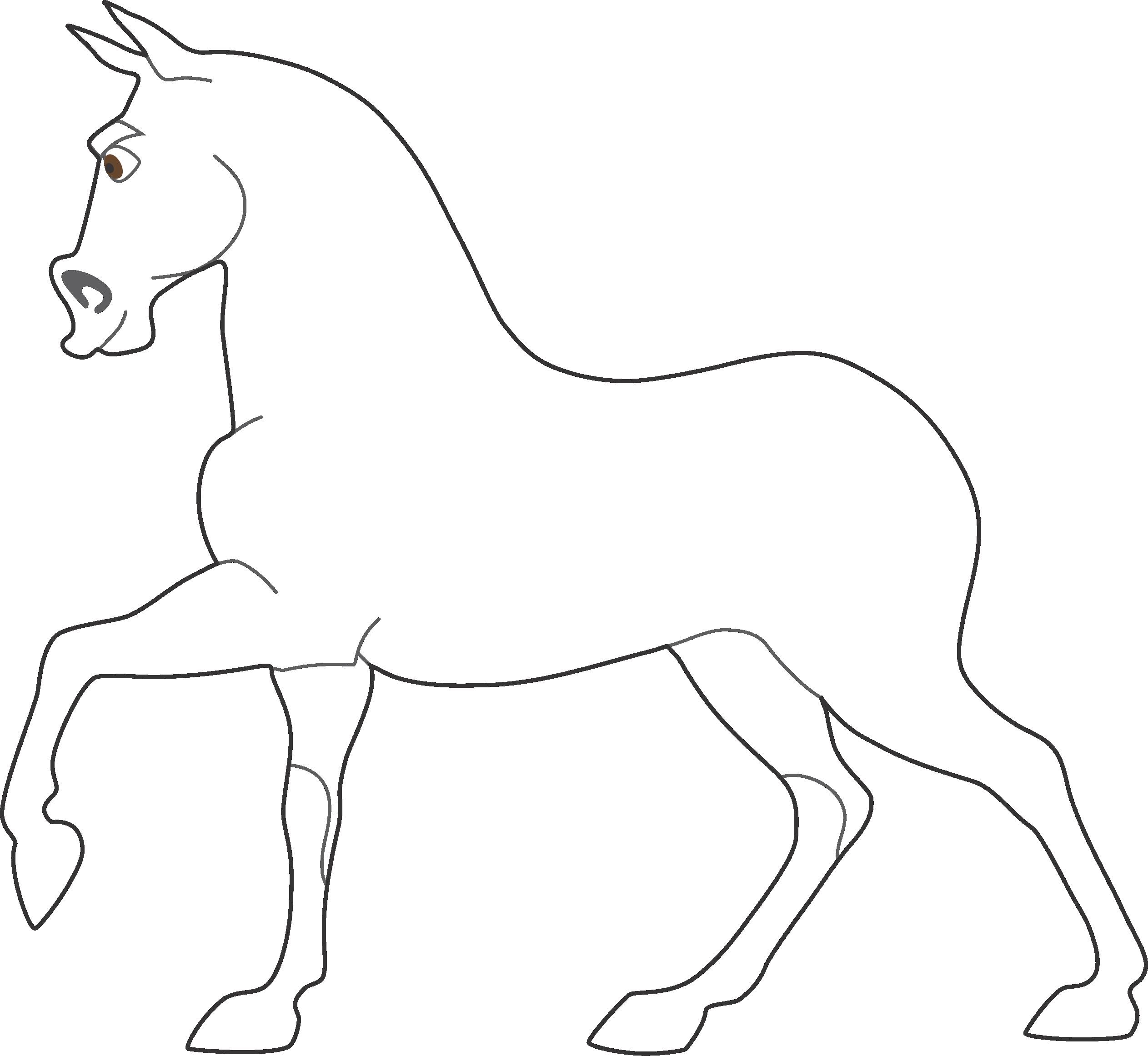 Molde Cavalo Maximus Enrolados Vetor E PNG Imagens E