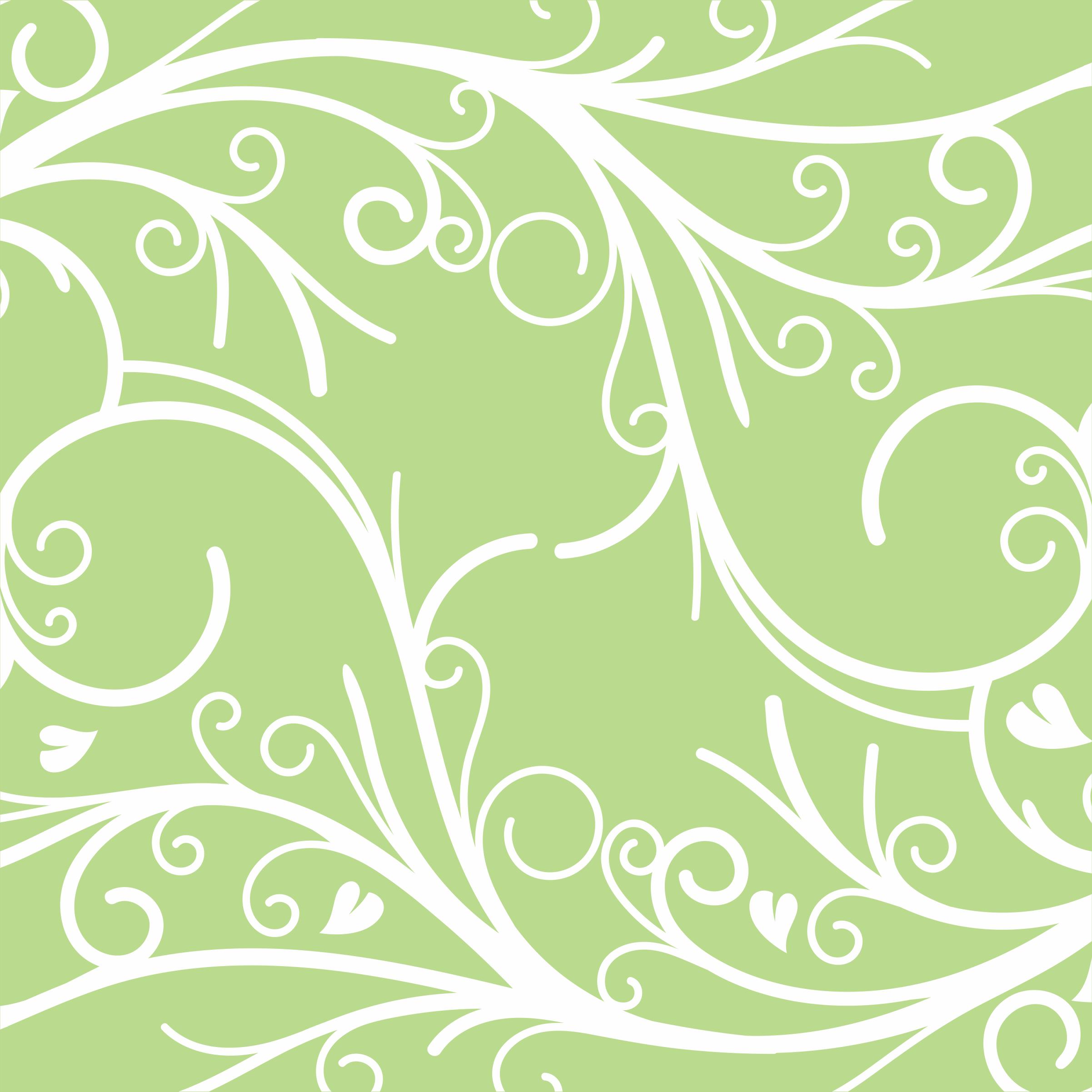 Moranguinho Papel Digital Verde Arabescos Vetor E Png