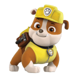 Patrulha Canina – Rubble 4 PNG