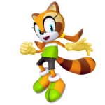 Sonic – Marine the Raccoon PNG