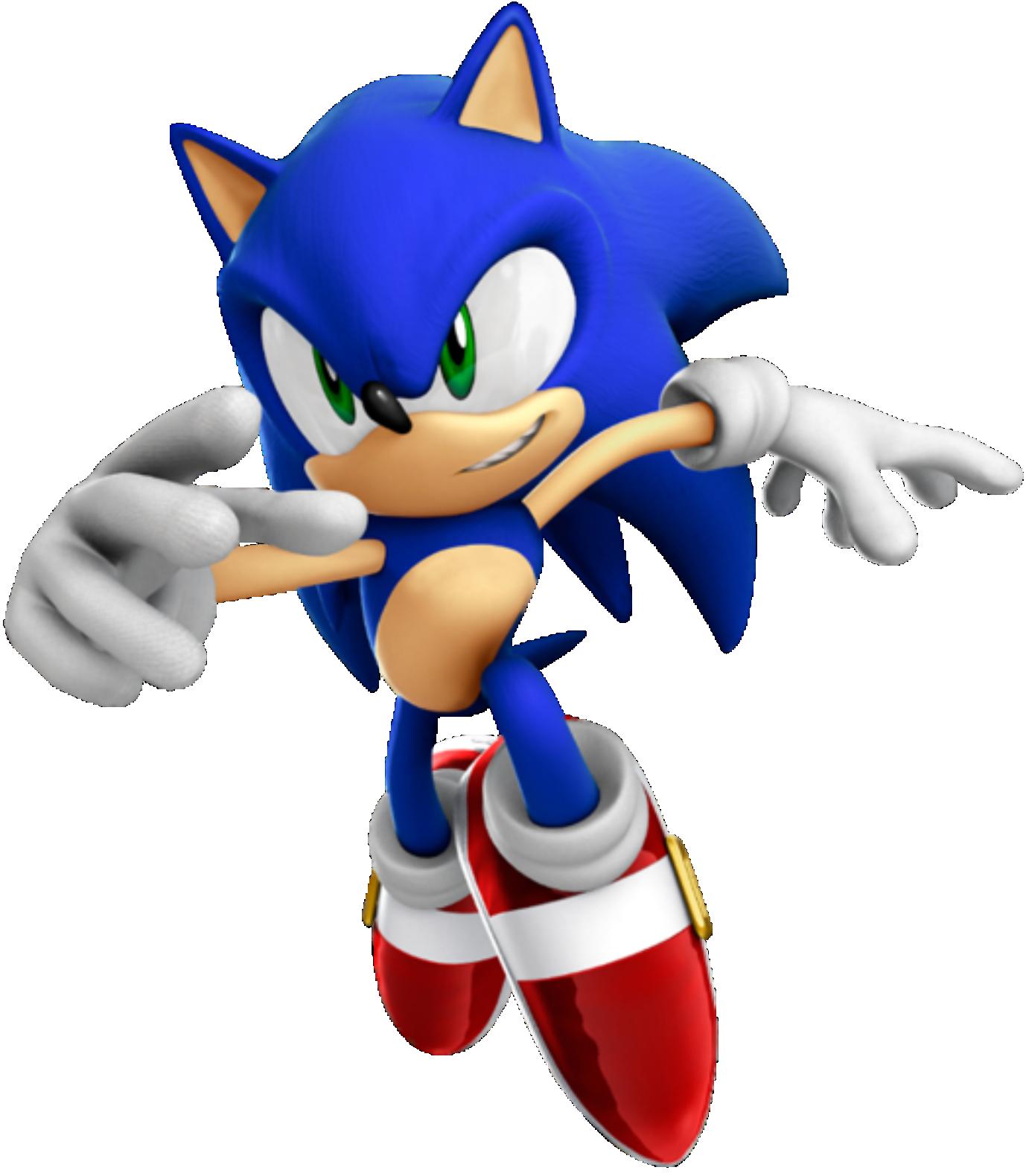 Novo Sonic PNG Imagens E Moldes.com.br