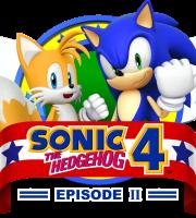 Sonic - Sonic 4 The Hedgehog Logo