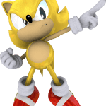 Sonic – Sonic Amarelo 10 PNG