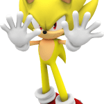 Sonic – Sonic Amarelo 12 PNG