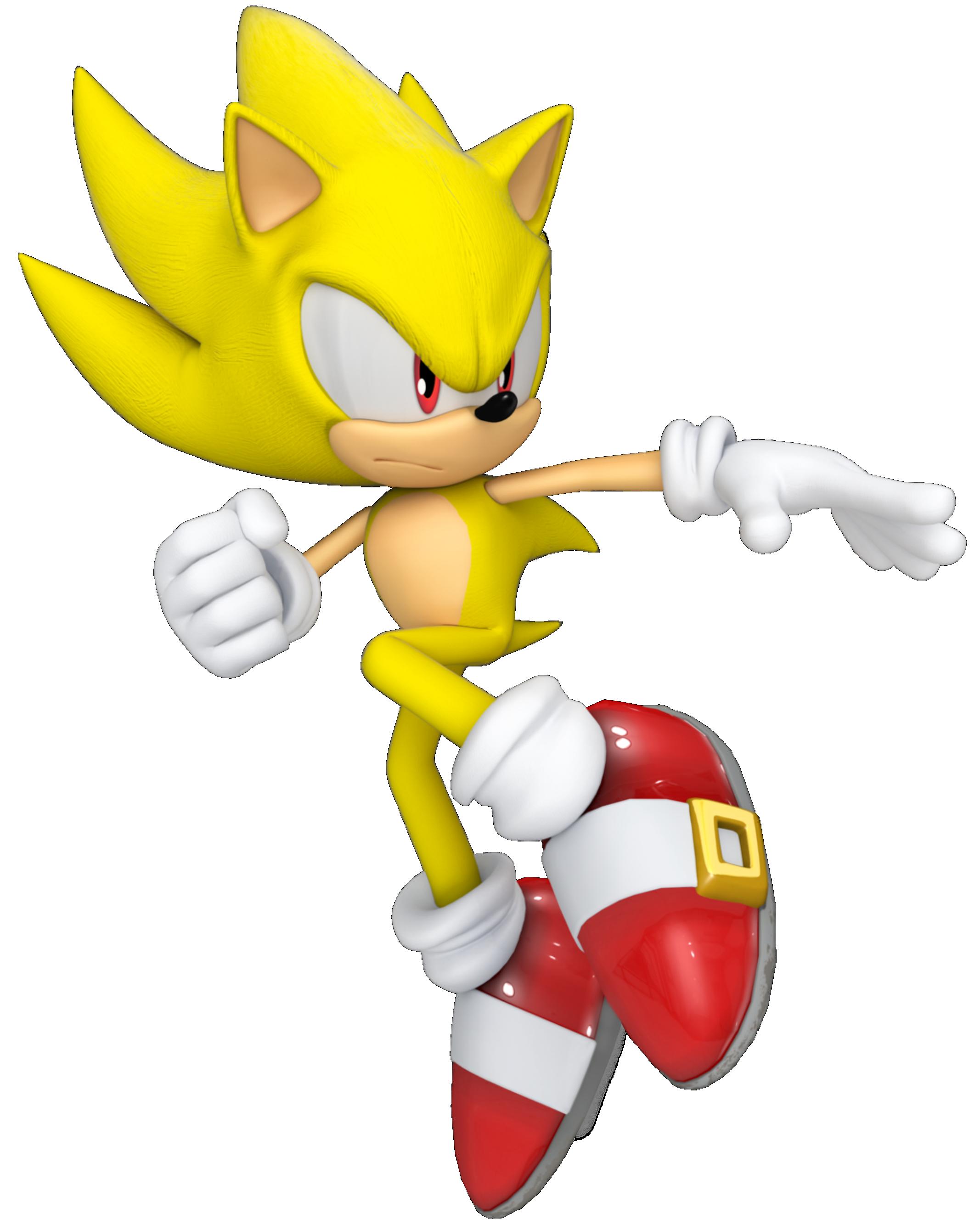 Sonic Sonic Amarelo 16 Png Imagens E Moldes Com Br
