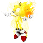 Sonic – Sonic Amarelo 3 PNG