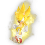 Sonic – Sonic Amarelo PNG
