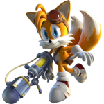 Sonic – Tails Raposa 2 PNG