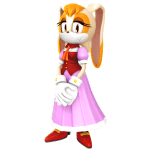 Sonic – vanilla the rabbit PNG