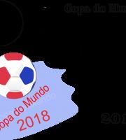 Molde de Copa do Mundo 2 para Eva, Feltro e Artesanato