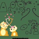 Molde de dia das mães 24 para Feltro, Eva e Artesanato