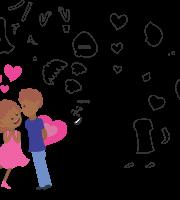Molde de dia dos Namorados 2 para Eva, Feltro e Artesanato