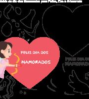 Molde Dia dos Namorados 17 para Eva, Feltro e Artesanato
