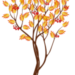 Árvores – Árvore Folhas Amarelas PNG