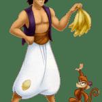 Aladdin – Aladdin e o macaco Abu PNG