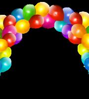 Balões - Arco de Balão Colorido
