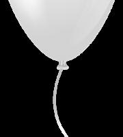 Balões - Balão Branco