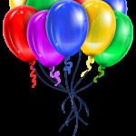 Balões – Conjunto de Balões Coloridos 11 PNG