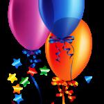 Balões – Conjunto de Balões Coloridos 13 PNG