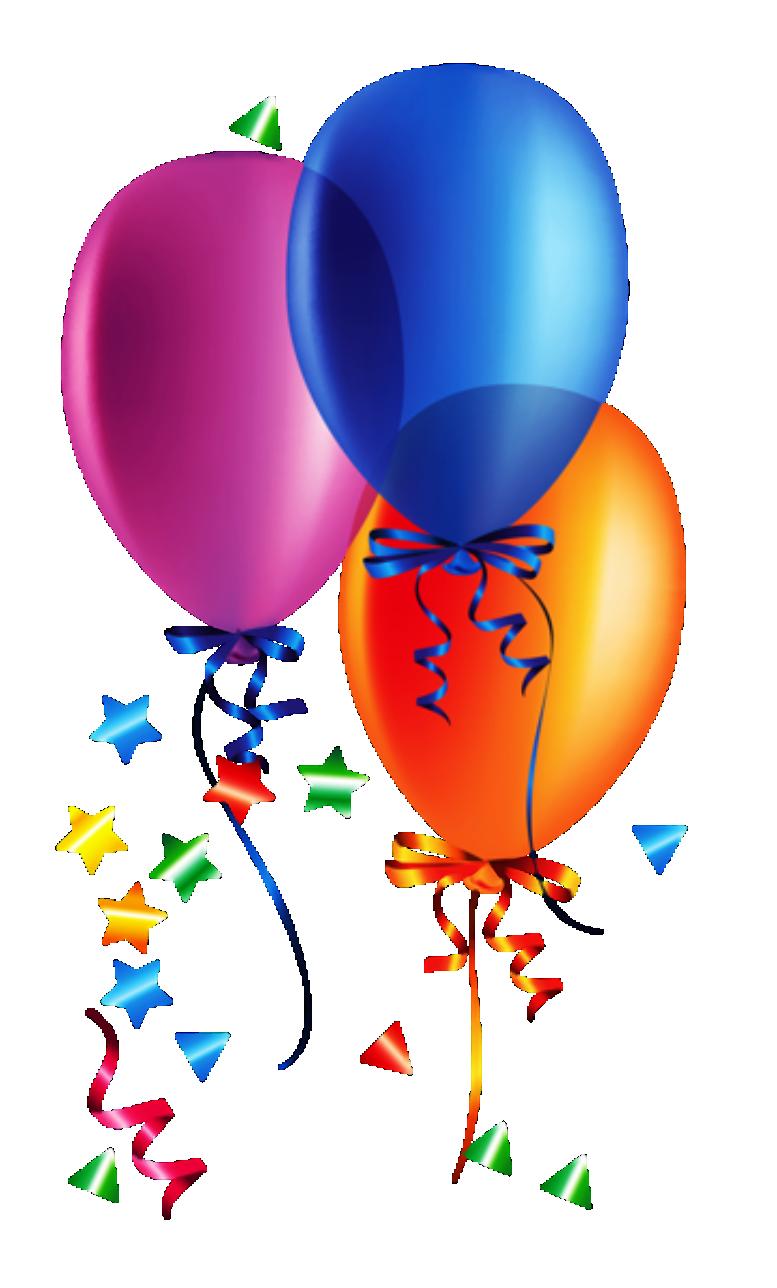 Balões - Conjunto de Balões Coloridos 13 PNG Imagens e ... - photo#28